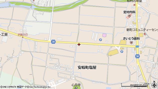 大分県国東市安岐町塩屋240周辺の地図