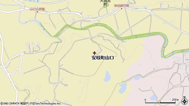 大分県国東市安岐町山口928周辺の地図