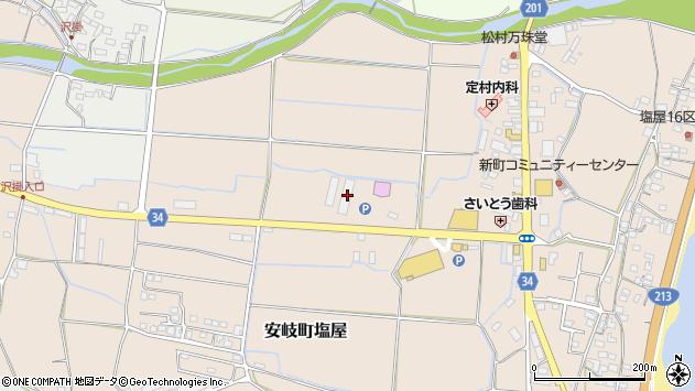 大分県国東市安岐町塩屋248周辺の地図