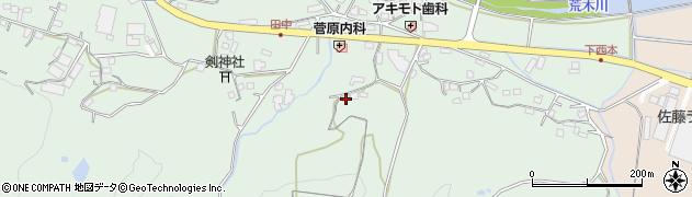大分県国東市安岐町西本916周辺の地図