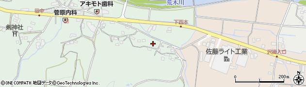 大分県国東市安岐町西本1146周辺の地図