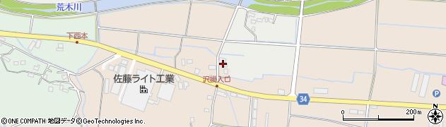 大分県国東市安岐町西本1037周辺の地図