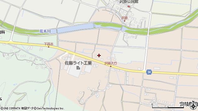 大分県国東市安岐町西本1987周辺の地図