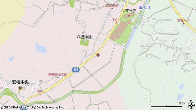 大分県国東市安岐町下山口482周辺の地図