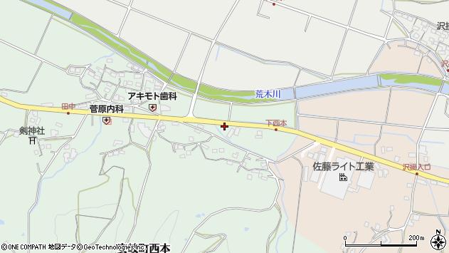 大分県国東市安岐町西本1094周辺の地図