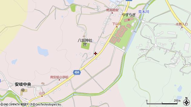大分県国東市安岐町下山口456周辺の地図