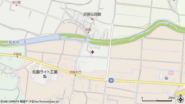 大分県国東市安岐町中園1124周辺の地図