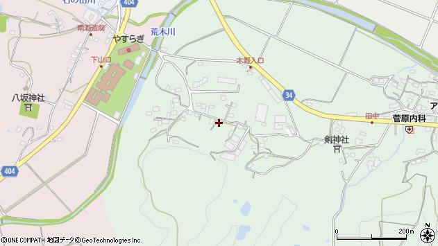 大分県国東市安岐町西本341周辺の地図