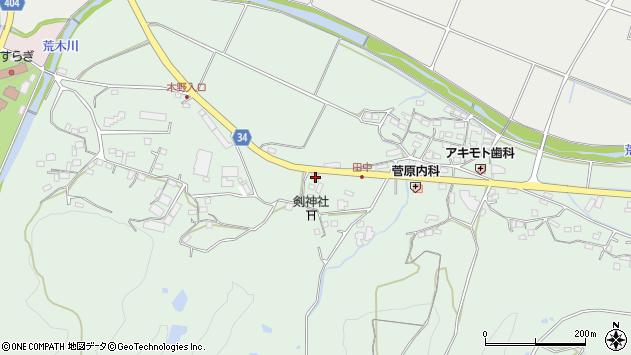 大分県国東市安岐町西本788周辺の地図