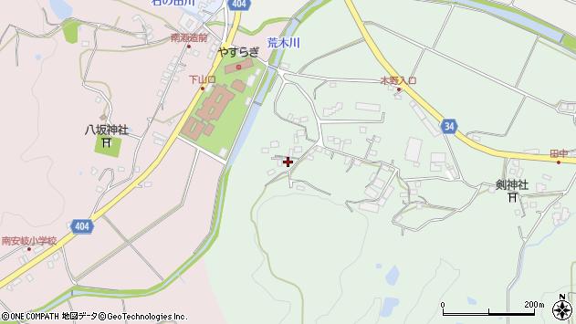 大分県国東市安岐町西本293周辺の地図