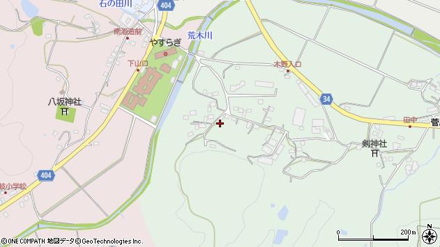 大分県国東市安岐町西本324周辺の地図