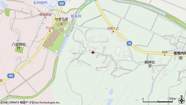 大分県国東市安岐町西本326周辺の地図