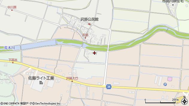 大分県国東市安岐町中園1129周辺の地図