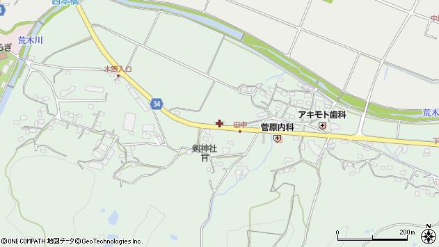 大分県国東市安岐町西本138周辺の地図