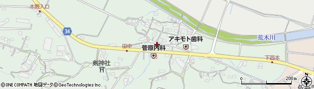 大分県国東市安岐町西本899周辺の地図