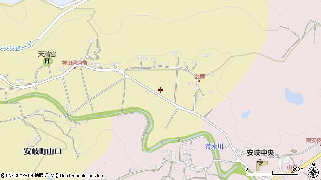 大分県国東市安岐町山口336周辺の地図