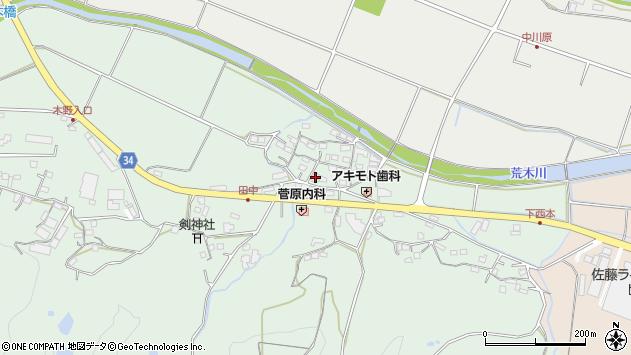 大分県国東市安岐町西本863周辺の地図