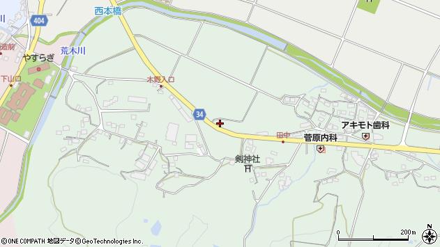 大分県国東市安岐町西本145周辺の地図