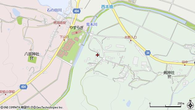 大分県国東市安岐町西本310周辺の地図
