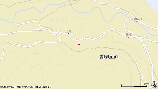 大分県国東市安岐町山口2932周辺の地図