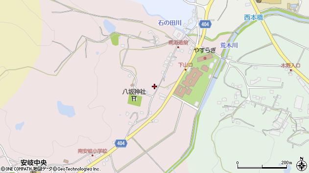 大分県国東市安岐町下山口155周辺の地図