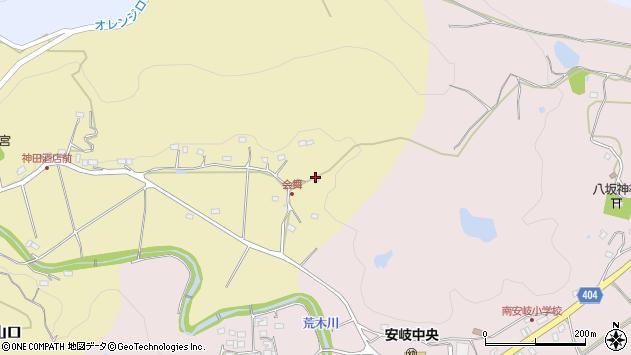 大分県国東市安岐町山口156周辺の地図