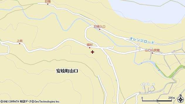大分県国東市安岐町山口2679周辺の地図