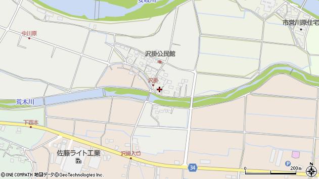 大分県国東市安岐町中園1059周辺の地図