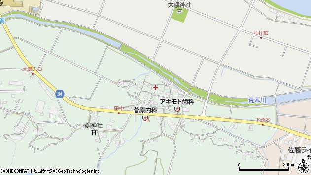 大分県国東市安岐町西本865周辺の地図