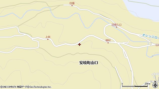 大分県国東市安岐町山口2754周辺の地図