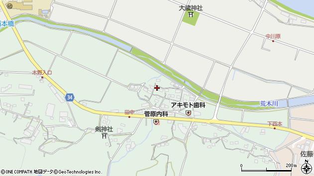 大分県国東市安岐町西本847周辺の地図