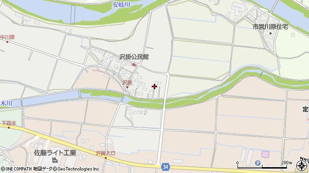 大分県国東市安岐町中園1077周辺の地図