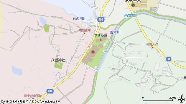 大分県国東市安岐町下山口58周辺の地図