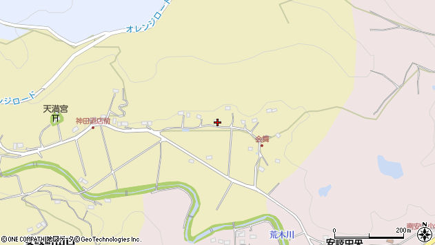 大分県国東市安岐町山口292周辺の地図