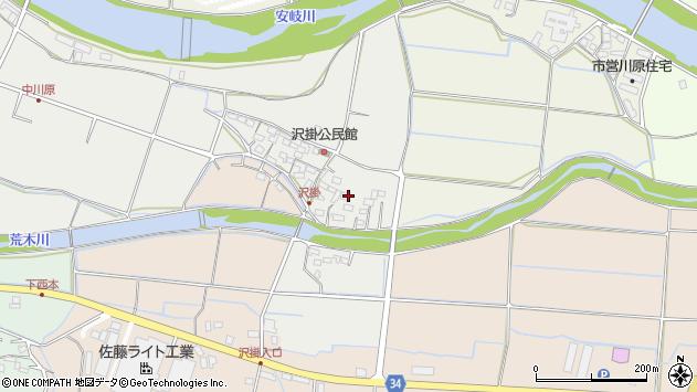 大分県国東市安岐町中園1069周辺の地図