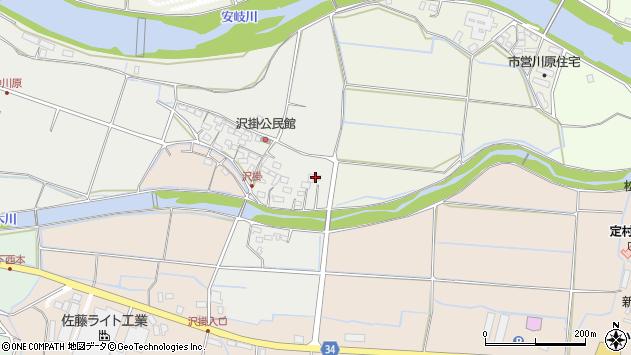 大分県国東市安岐町中園1080周辺の地図
