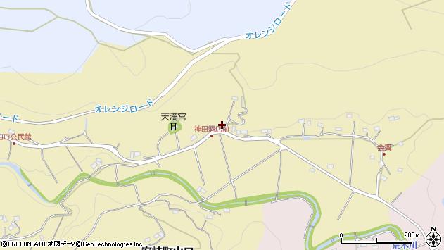 大分県国東市安岐町山口445周辺の地図