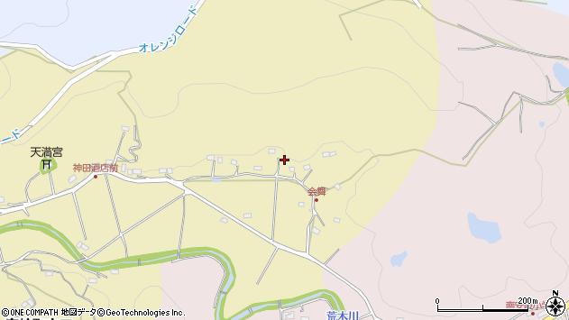 大分県国東市安岐町山口302周辺の地図