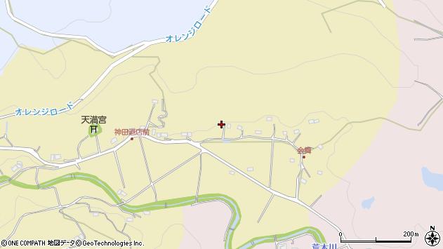 大分県国東市安岐町山口395周辺の地図