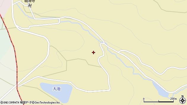 大分県国東市安岐町山口3675周辺の地図