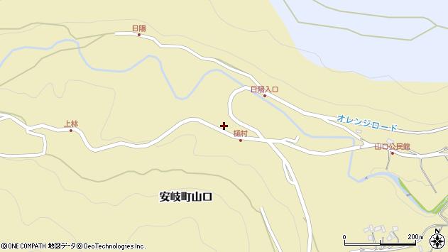 大分県国東市安岐町山口2668周辺の地図