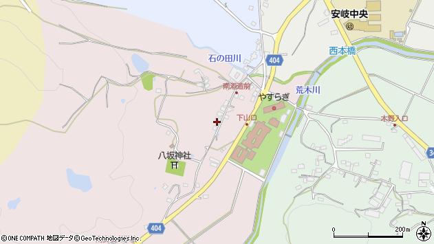 大分県国東市安岐町下山口20周辺の地図