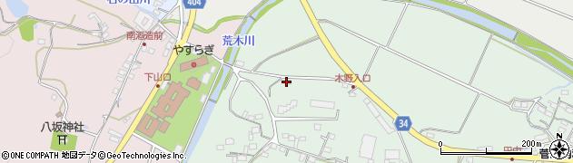 大分県国東市安岐町西本215周辺の地図