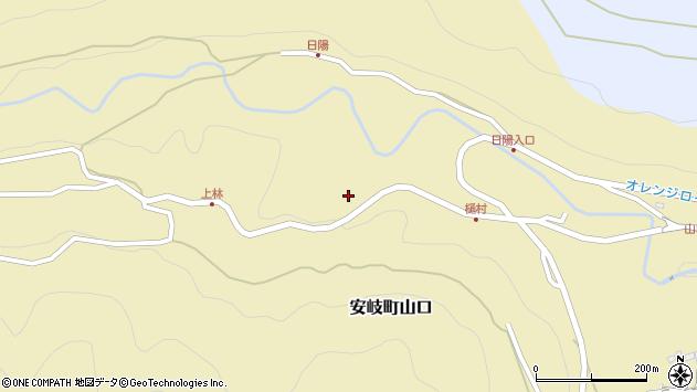 大分県国東市安岐町山口2765周辺の地図