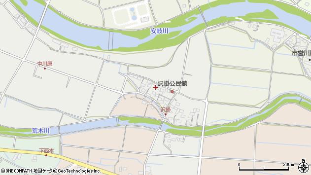 大分県国東市安岐町中園1035周辺の地図