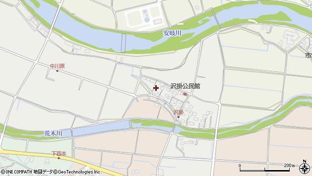 大分県国東市安岐町中園1029周辺の地図