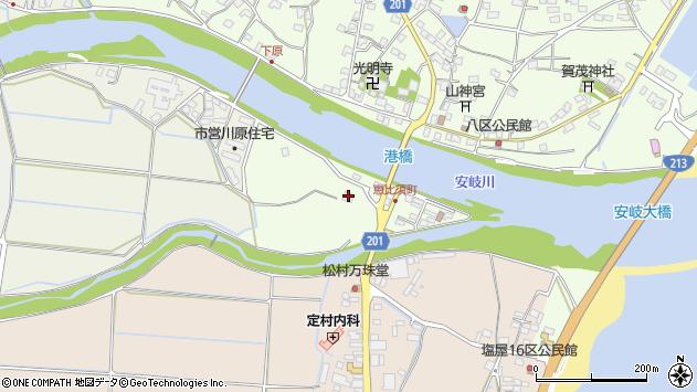 大分県国東市安岐町下原2717周辺の地図