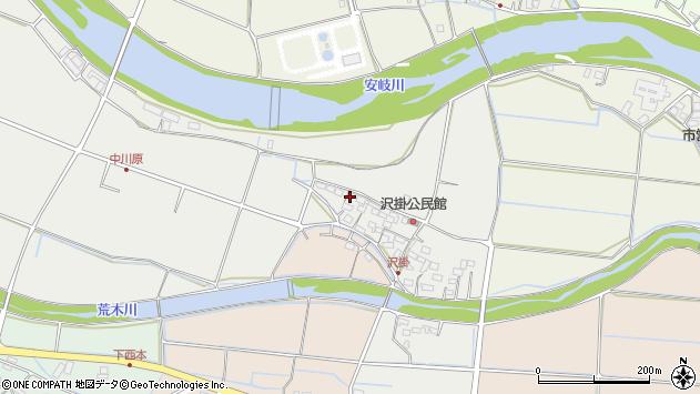 大分県国東市安岐町中園1026周辺の地図