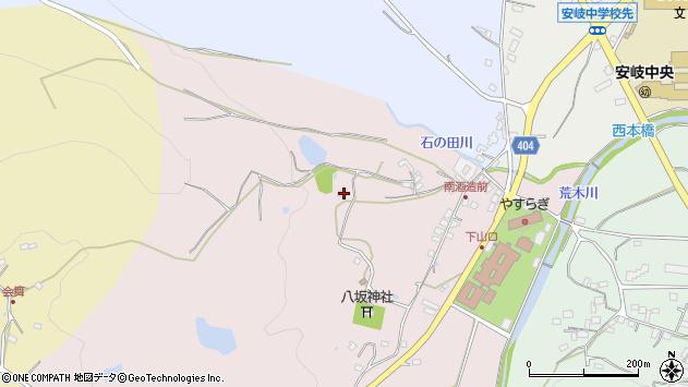 大分県国東市安岐町下山口214周辺の地図