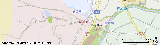 大分県国東市安岐町下山口266周辺の地図